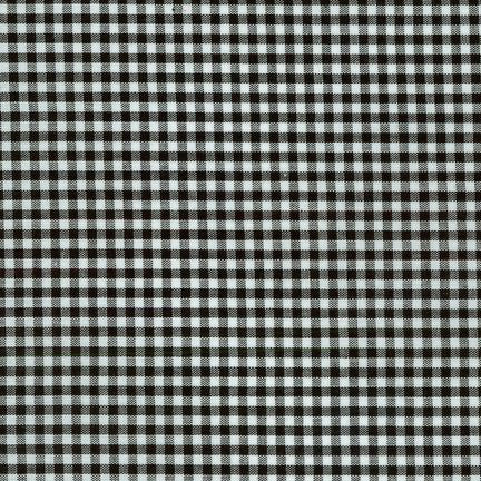 "1/8"" Carolina Gingham in Black"