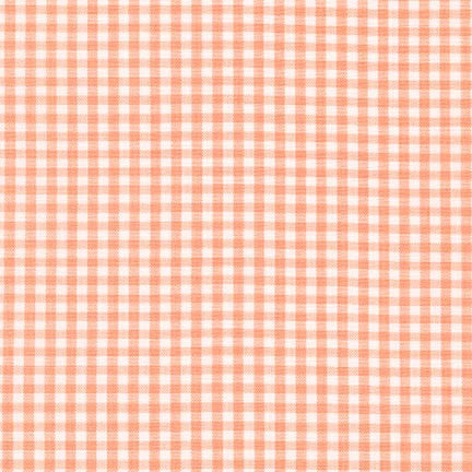 "1/8"" Carolina Gingham in Peach"