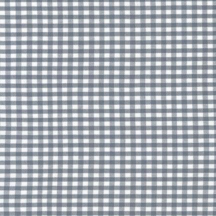 "1/8"" Carolina Gingham in Silver"