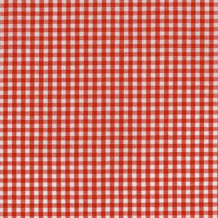 "1/8"" Carolina Gingham in Crimson"
