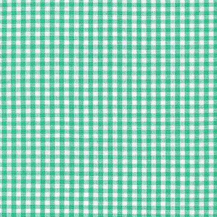 "1/8"" Carolina Gingham in Seafoam"