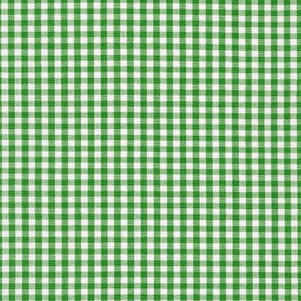"1/8"" Carolina Gingham in Kelly"