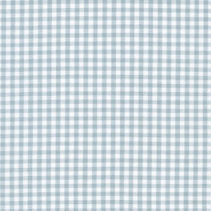"1/8"" Carolina Gingham in Fog"