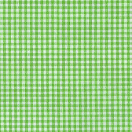 "1/8"" Carolina Gingham in Lime"
