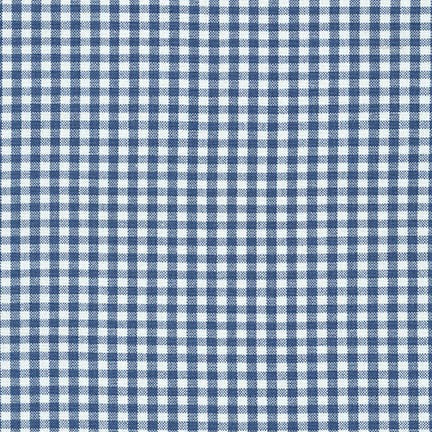 "1/8"" Carolina Gingham in Denim"