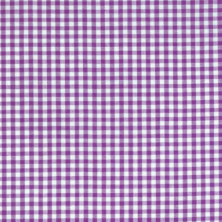 "1/8"" Carolina Gingham in Purple"