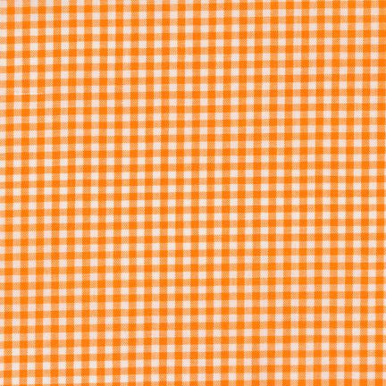 "1/8"" Carolina Gingham in Orange"