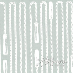 Double Dutch Jump Ropes in Gray from Double Dutch by Latifah Saafir Studios for Hoffman Fabrics