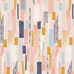 Paper Meadow Paper Lines in Light Pink from Paper Meadow by Jilly P for Dashwood Studio