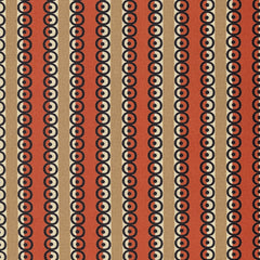 Stonington Dot Stripe in Lobster from Stonington by Denyse Schmidt for Free Spirit