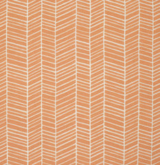 Flora Herringbone in Carrot from Flora by Joel Dewberry for Free Spirit