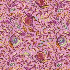 Slow & Steady Pit Crew in Orange Crush from Slow & Steady by Tula Pink for Free Spirit
