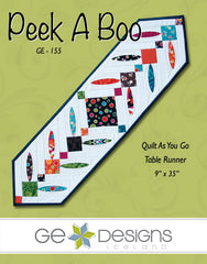 Peek A Boo - PDF Quilt Pattern by GE Designs