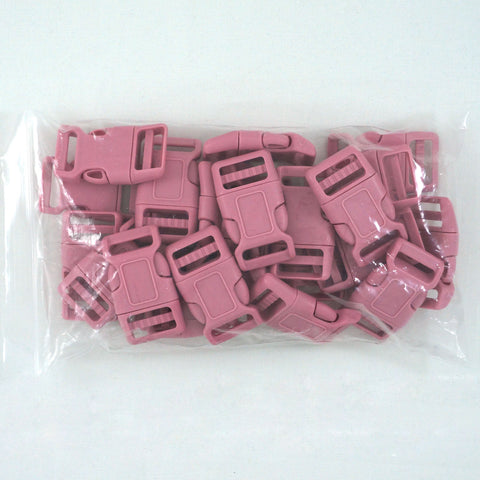 "Side Release Buckle (for 1"" Straps) - Pink (25-Pack)"