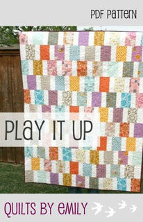 Play It Up - PDF Quilt Pattern