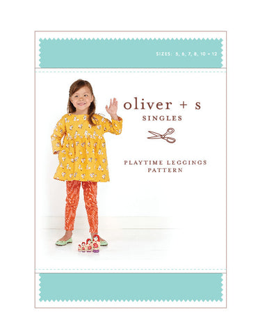 Playtime Leggings 5 - 12 - PDF Apparel Pattern