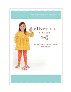 Playtime Leggings 6m - 4 - PDF Apparel Pattern