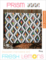 Prism - Paper Quilt Pattern by Fresh Lemons Quilts