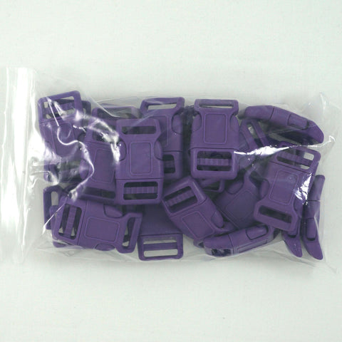 "Side Release Buckle (for 1"" Straps) - Purple (25-Pack)"