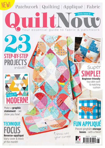 Quilt Now Magazine - Issue 06 - December 2014