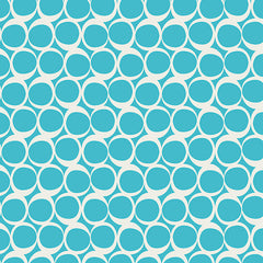 Round Elements in Crystalline Blue from Round Elements by Art Gallery House Designers  for Art Gallery
