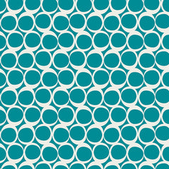 Round Elements in Vintage Teal from Round Elements by Art Gallery House Designers  for Art Gallery