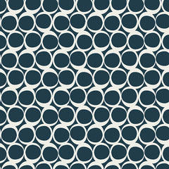 Round Elements in Serene Tide from Round Elements by Art Gallery House Designers  for Art Gallery
