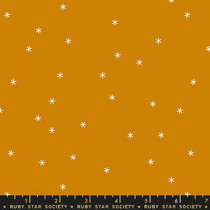 RS0005-15 Ruby Star Society Spark in Butterscotch by Melody Miller for Ruby Star Society from Pink Castle Fabrics