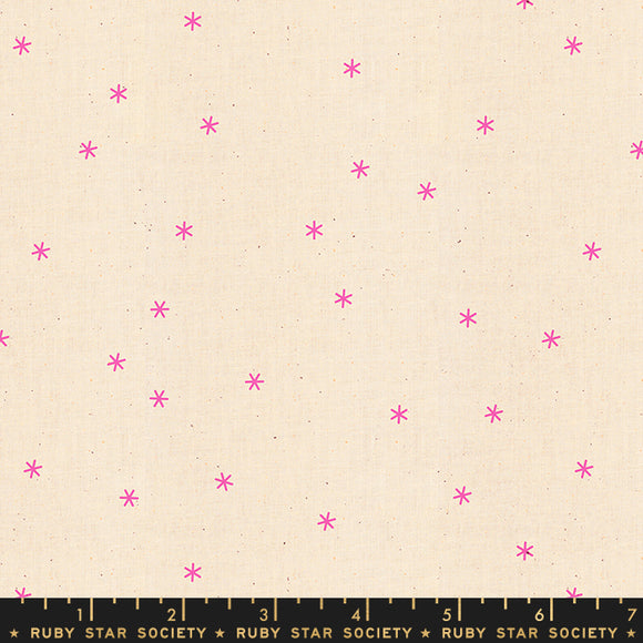RS0005-26 Ruby Star Society Spark in Neon Pink by Melody Miller for Ruby Star Society from Pink Castle Fabrics