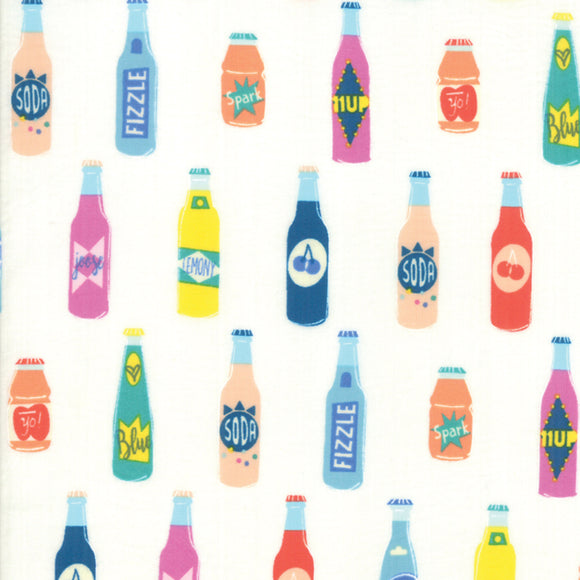 RS1001 11 Pop! Pop Off in Cream Soda by Rashida Coleman-Hale for Ruby Star Society from Pink Castle Fabrics