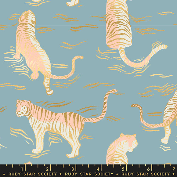 Tiger Fly Tigress Metallic in Soft Blue