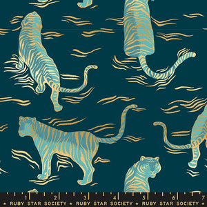 Tiger Fly Tigress Metallic in Dark Teal