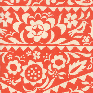 RS4001 15 Alma Market Floral in Warm Red by Alexia Marcelle Abegg for Ruby Star Society from Pink Castle Fabrics