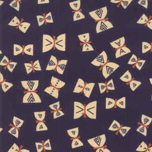 RS4002 12 Alma Butterflies in  Indigo by Alexia Marcelle Abegg for Ruby Star Society from Pink Castle Fabrics