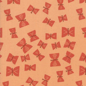 RS4002 16 Alma Butterflies in Persimmon by Alexia Marcelle Abegg for Ruby Star Society from Pink Castle Fabrics