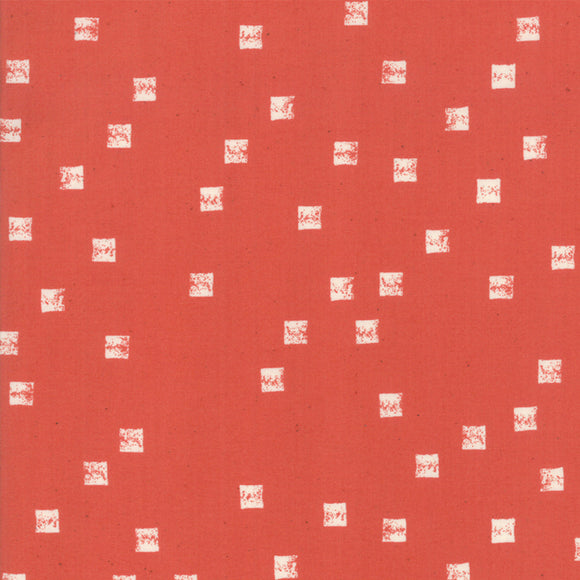 RS4004 14 Alma Field in Persimmon by Alexia Marcelle Abegg for Ruby Star Society from Pink Castle Fabrics