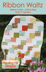 Ribbon Waltz - PDF Quilt Pattern by Harding Hill Designs