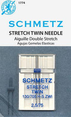 Schmetz Stretch Twin Needle from Notions for Schmetz