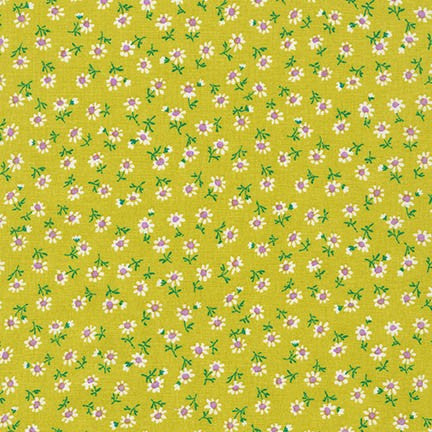 Petite Classics Flowers in Lime