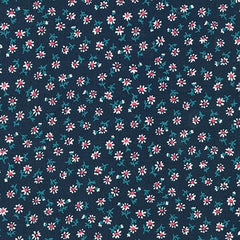 Petite Classics Flowers in Navy from Petite Classics by Sevenberry for Sevenberry