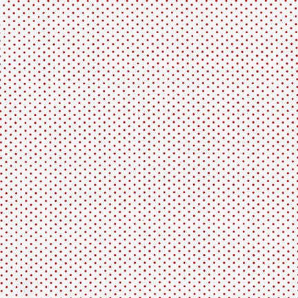 Petite Basics Dots in Cherry