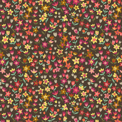 Suffolk Garden Mini Tulips in Dark Brown from Suffolk Garden by Dashwood Studio House Designers  for Dashwood Studio