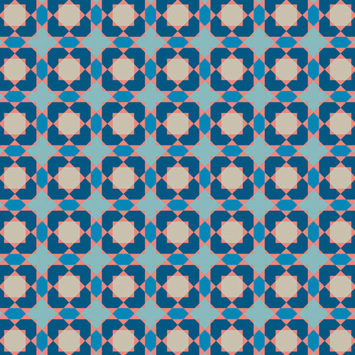 Sun Kissed Pool Tile in Blue