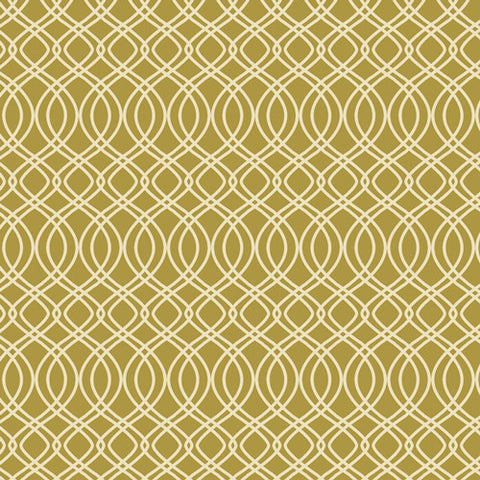 Splendor Knotted Trellis in Olive
