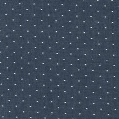 Cotton Chambray with Dots in Indigo from Cotton Chambray Dots by Robert Kaufman House Designers  for Robert Kaufman