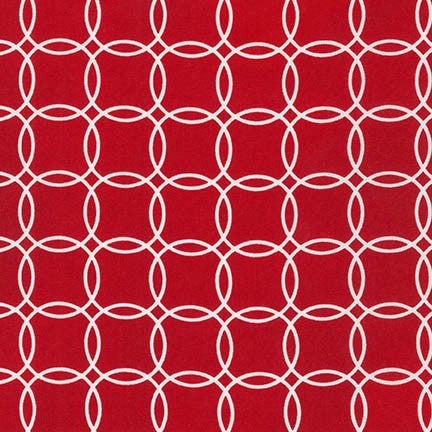 Metro Living Overlapping Circles in Red