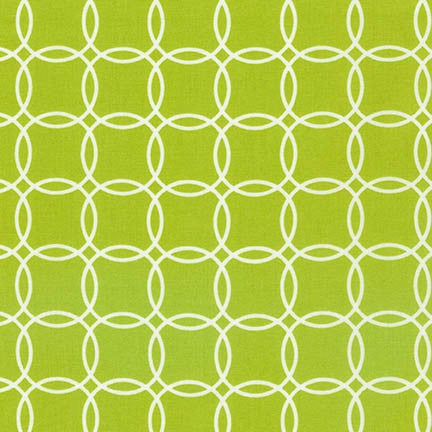 Metro Living Overlapping Circles in Lime