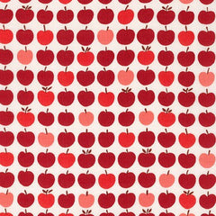 London Calling 6 Apples in Red from London Calling 6 by Robert Kaufman House Designers  for Robert Kaufman