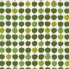 London Calling 6 Apples in Green from London Calling 6 by Robert Kaufman House Designers  for Robert Kaufman