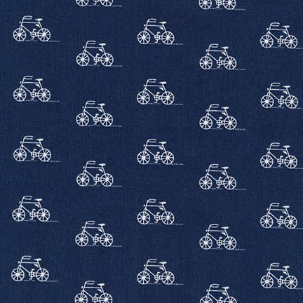 London Calling 6 Bicycles in Indigo